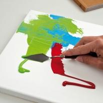 Краски акриловые художественные